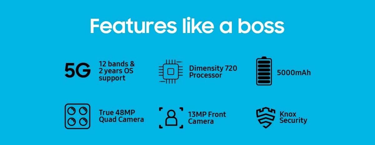 Samsung Galaxy M32 5G dengan Dimensity 720 akan hadir di Amazon India dengan layar yang diturunkan