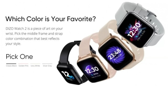 DIZO Watch 2 and Watch Pro are coming to India with large displays, long battery lives