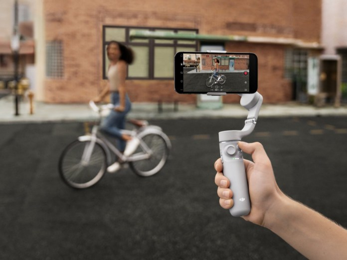 DJI OM 5 is a smartphone gimbal that doubles up as a selfie stick