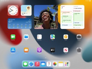 New in iPadOS 15: Widgets on the home screen