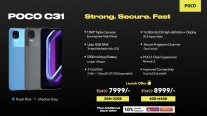 Poco C31 goes on sale starting October 2