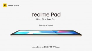 Realme Pad is built around a 10.4