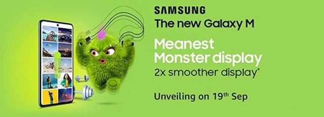 Samsung Galaxy M52 5G to arrive on September 19