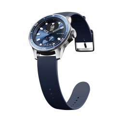 Withings ScanWatch Horizon in blue, green and with a silicone strap (images: Withings)