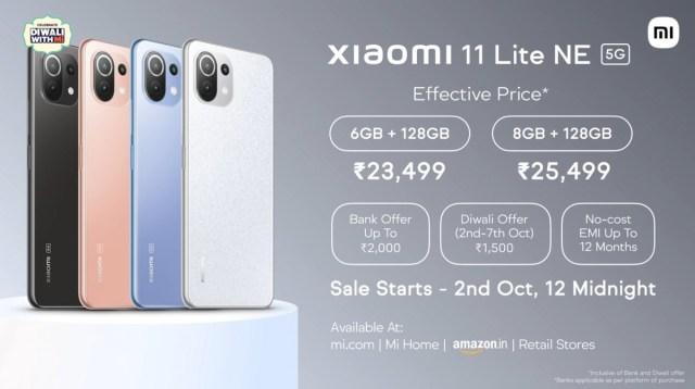 Xiaomi 11 Lite NE 5G launched in India