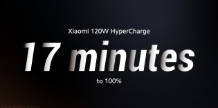 Xiaomi's 120W fast charging system fills the 5,000 mAh battery completely in just 17 minutes