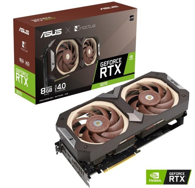 ASUS announces GeForce RTX 3070 Noctua Edition graphics card