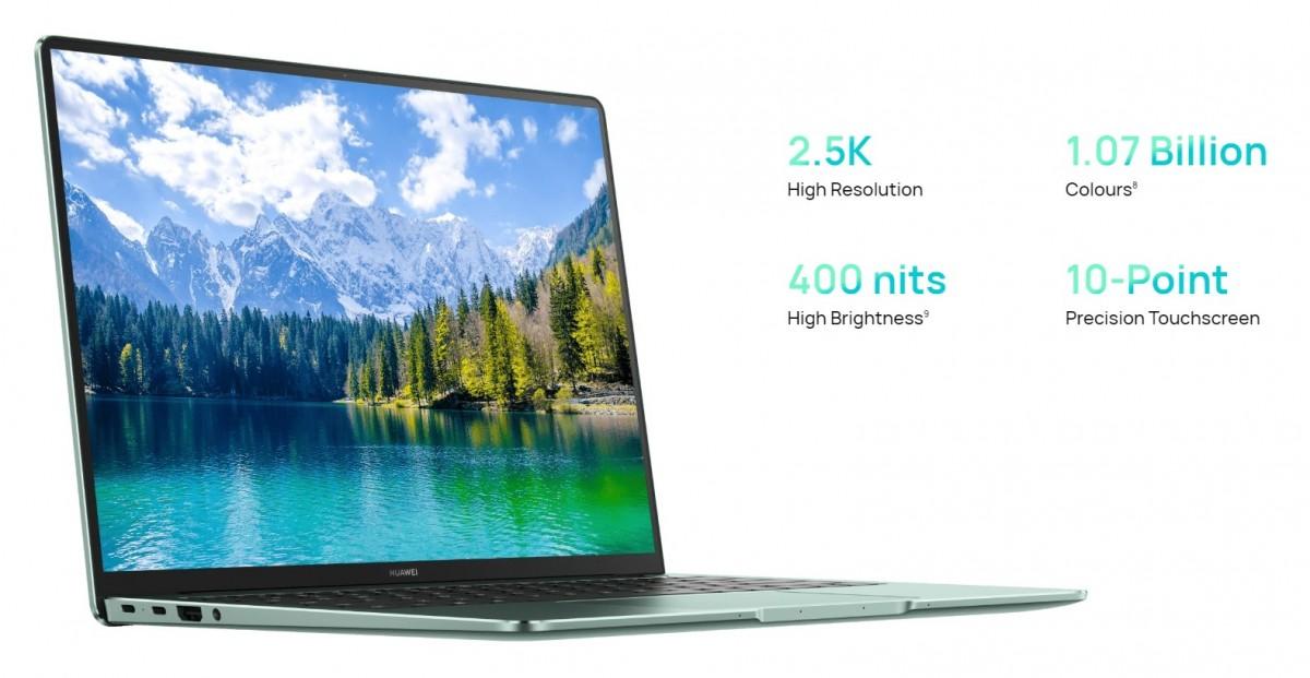 Huawie MateBook 14s memiliki fitur layar sentuh 90 Hz 14,2 inci, prosesor Intel i5 atau i7 gen ke-11