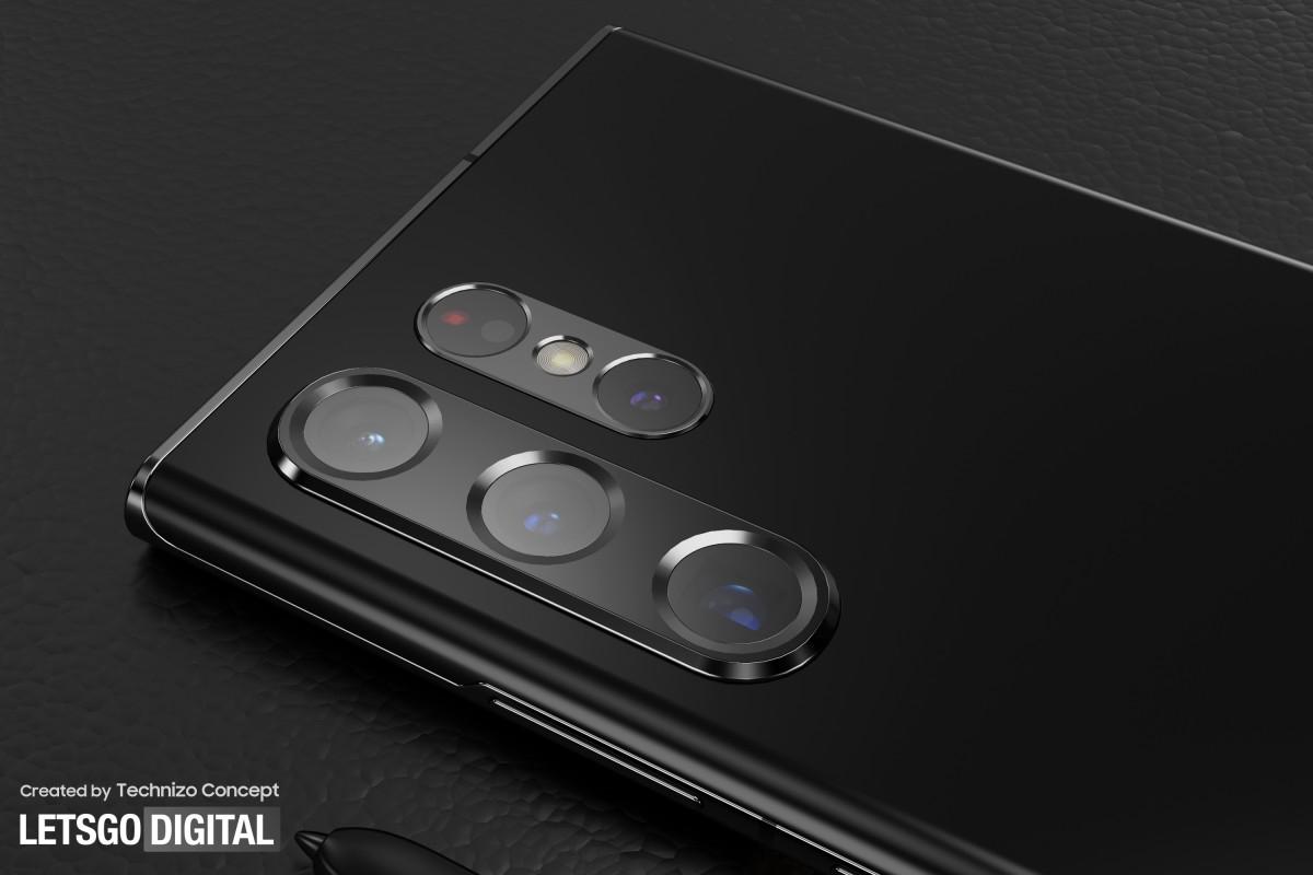 Samsung Galaxy S22 Ultra mendapatkan render CAD yang diperbarui dengan pulau kamera ganda