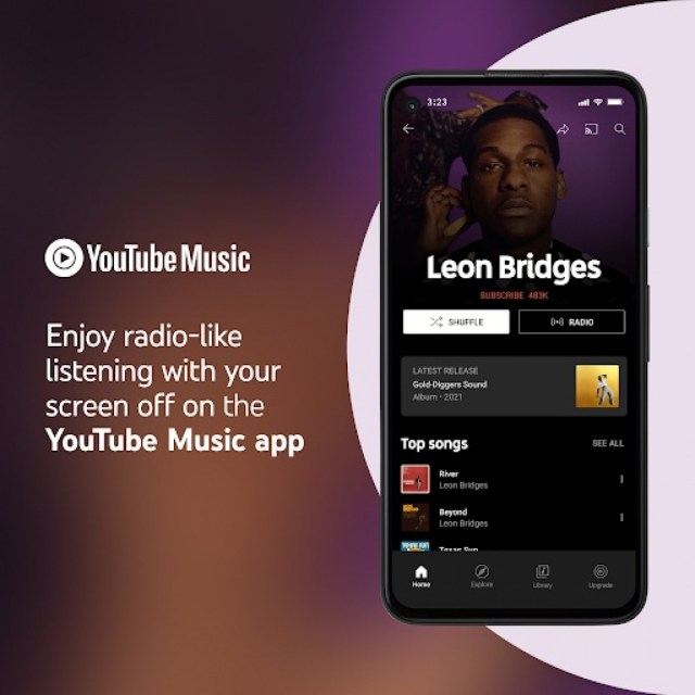 YouTube Music gets free background playback