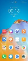 Homescreen - Huawei P40 Pro review