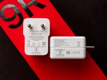 OnePlus 8T charger on the left and OnePlus 9R charger on the right - OnePlus 9R hands-on review