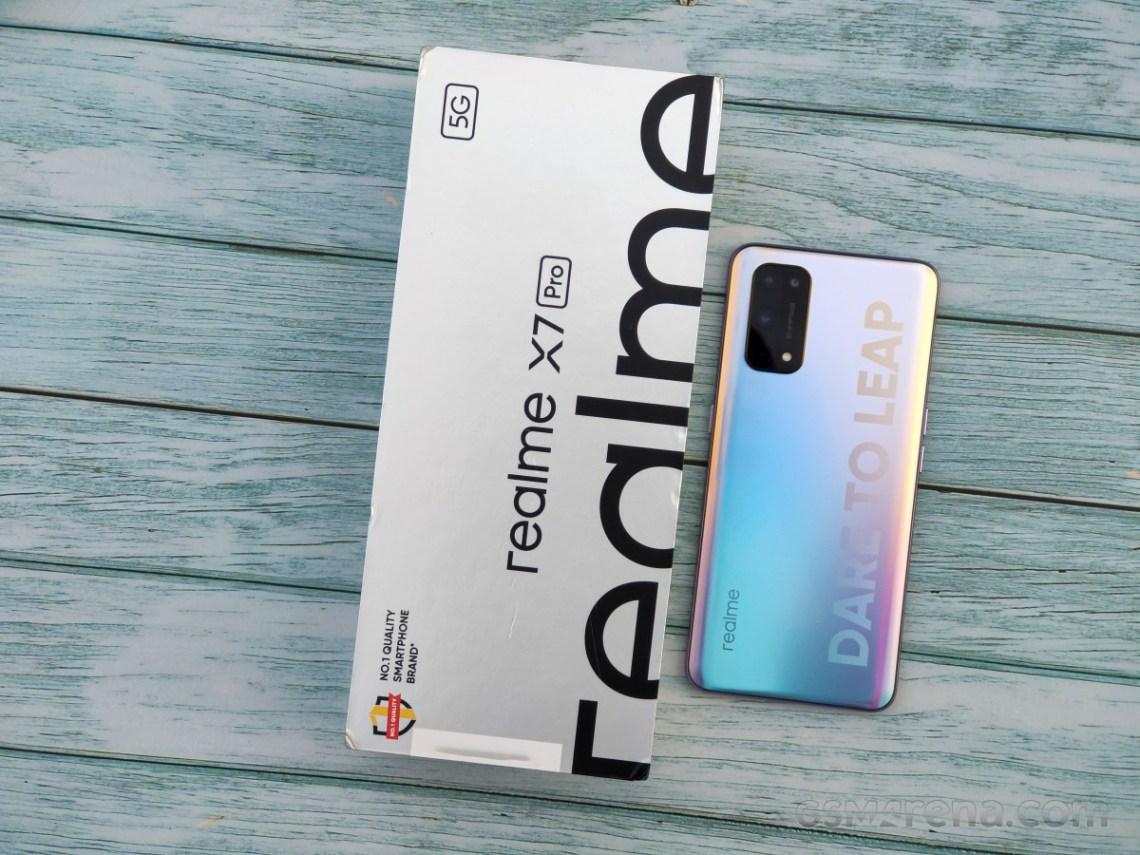 Ulasan langsung Realme X7 Pro