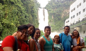 Kaluluwa Kolectivo and NEXTGEN Fellows enjoy Maria Cristina Falls in Iligan City, Philippines