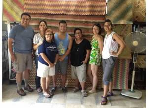 Marc Butiong (center) poses with participants of NEXTGEN and Kaluluwa Kolectivo