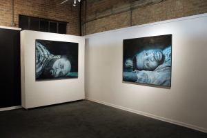 Bang Bang art exhibit by Cesar Conde (photo courtesy of Cesar Conde)