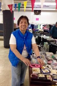 Nora Castillo of the St. Wenceslaus Parish Club