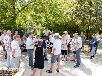 Diskussion in Lichtenwald