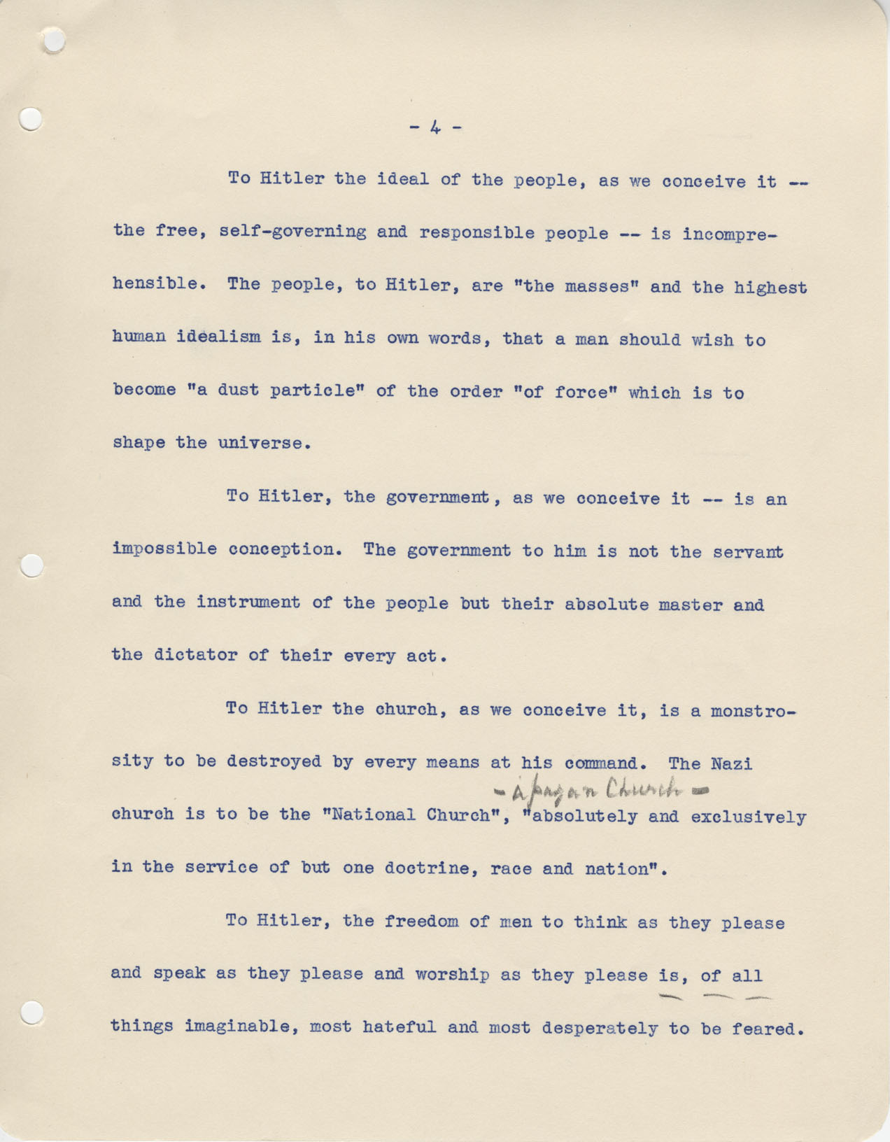 Radio Speech Of The President Bill Of Rights Day Pg4
