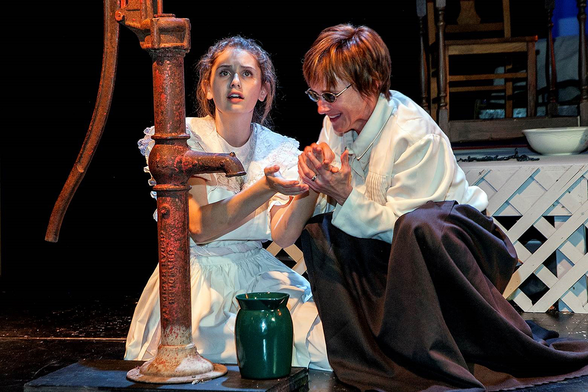 At The Wheeler Sopris Theatre Company At Colorado Mountain College Presents The Miracle Worker