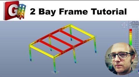 [Beginner Tutorial] 2 Bay Frame tutorial in midas GEN