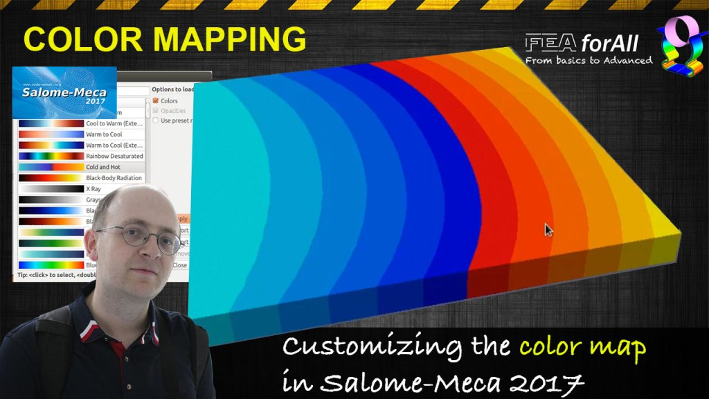 [Salome Paravis Tutorial] Changing the Color Map
