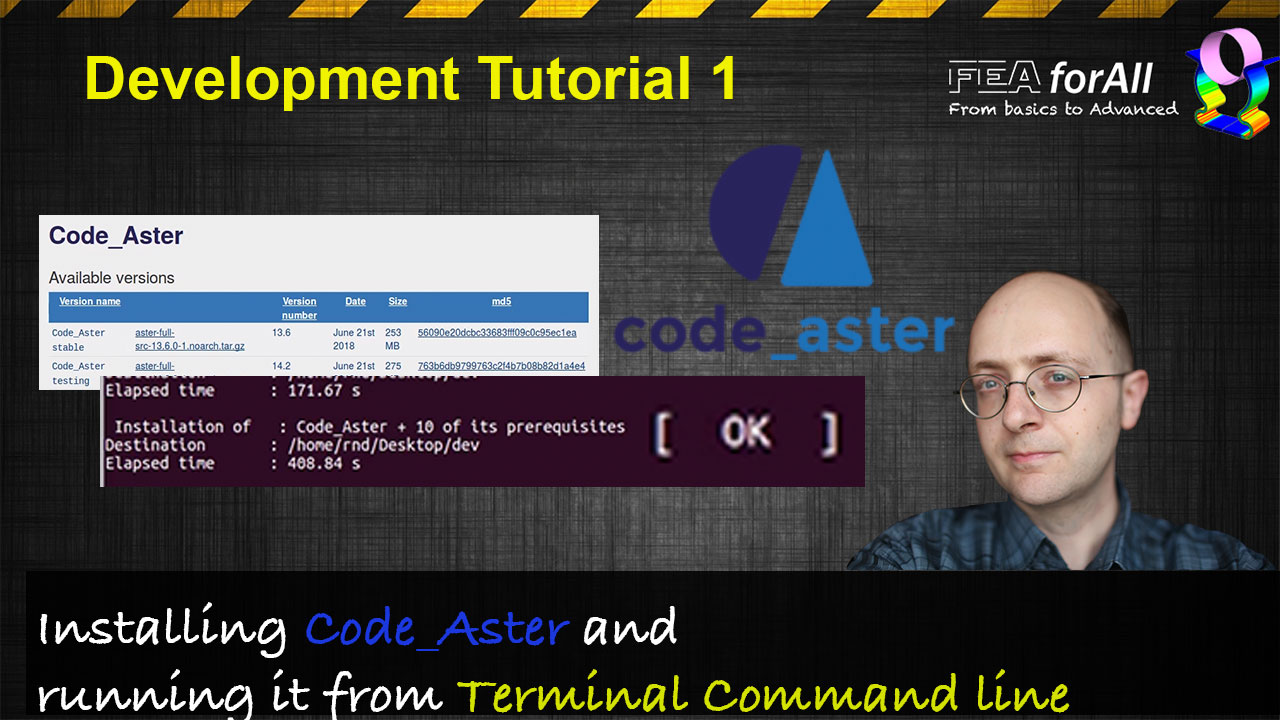 Salome Meca and Code Aster Tutorials - FEA for All