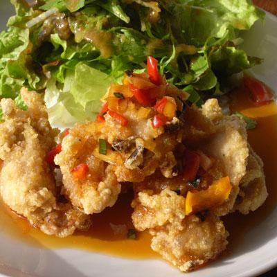 鶏のカラアゲ・油淋ソース