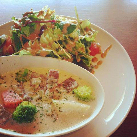 牛肉と野菜のクリーム煮