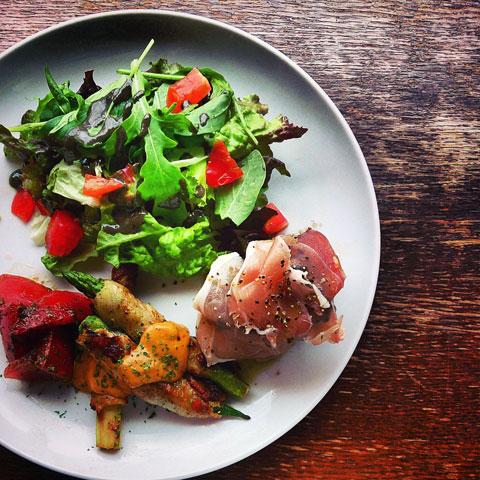 夏野菜のバラエティプレート