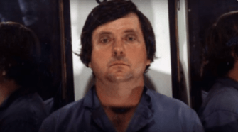 Edward H. Bell's Booking Photo Captured From Video.