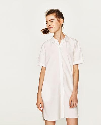 white tshirt dress 2