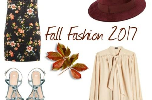 Fall Fashion 2017