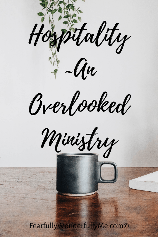 Hospitality-An Overlooked Ministry