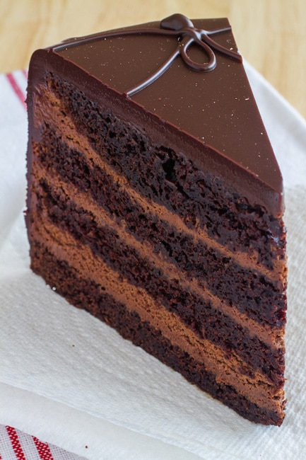 Three Layer Chocolate Cake Recipe