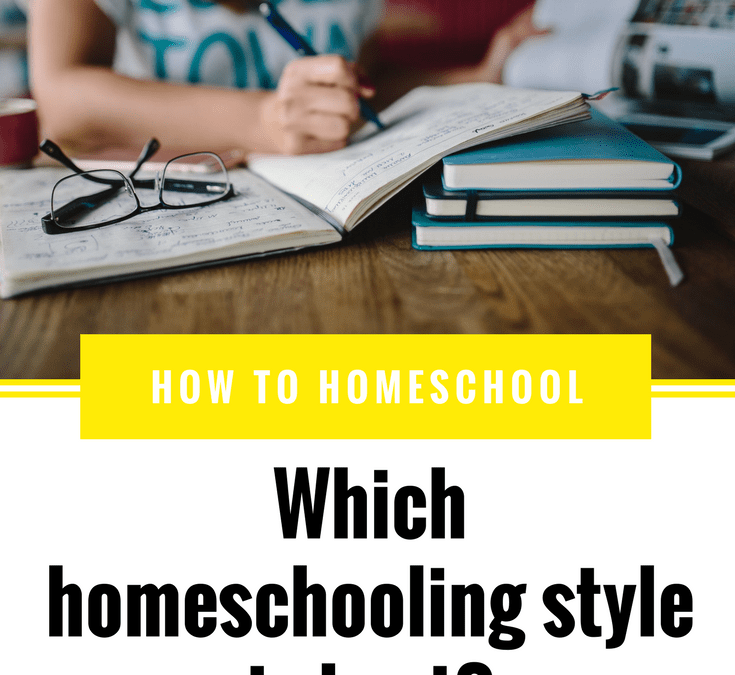 The Continuum of Homeschooling Styles
