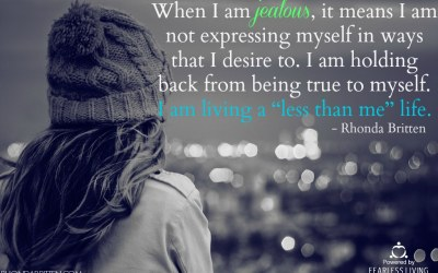 The Positive Path of Jealousy