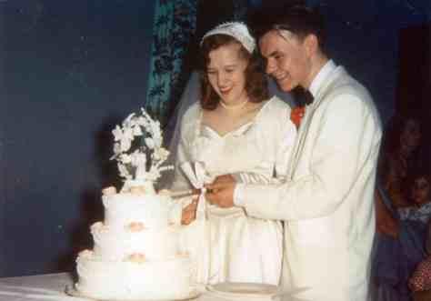 Rhonda Britten's Parents: Ena and Ron Wiitanen Wedding