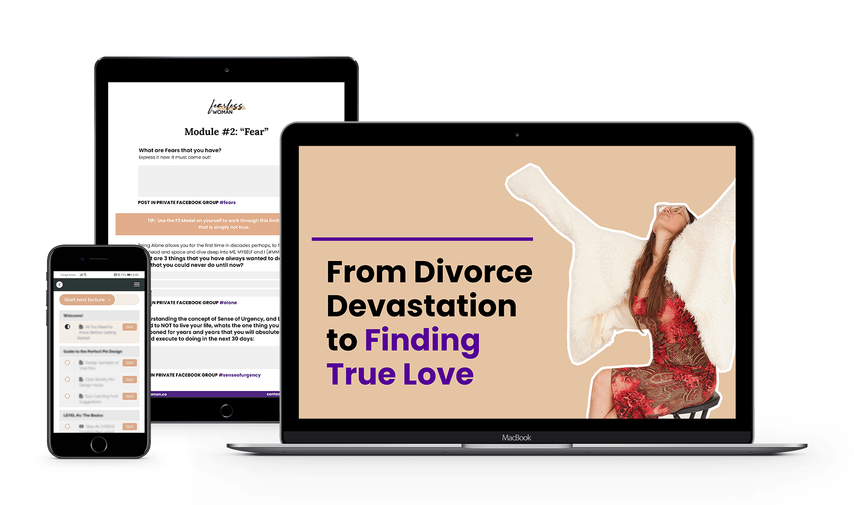 Fearless Woman Transformation Program From Divorce