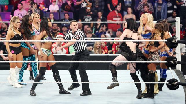 Survivor Series 2014 Divas Match