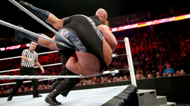 WWE Big Show vs Erick Rowan