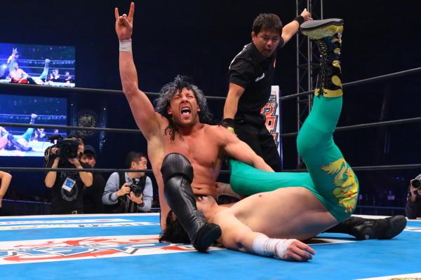 Kenny Omega NJPW Wrestle Kingdom 9
