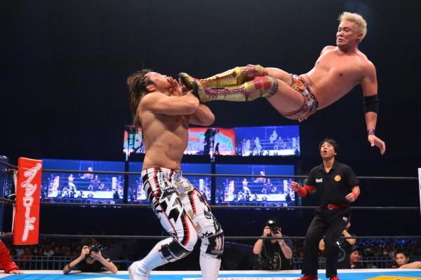 Okada vs Tanahashi NJPW WK9