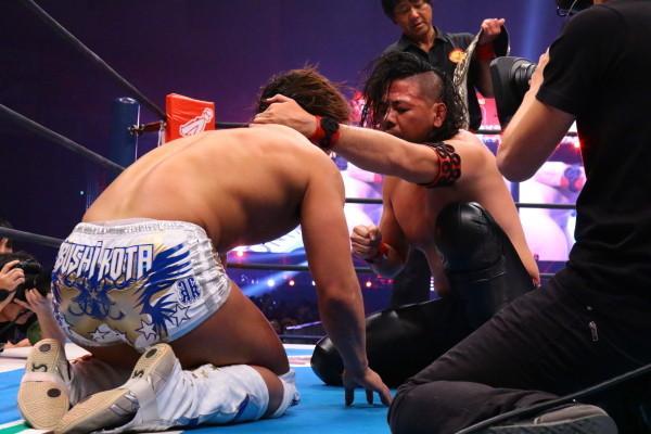 Shinsuke Nakamura vs Kota Ibushi NJPW WK9 05