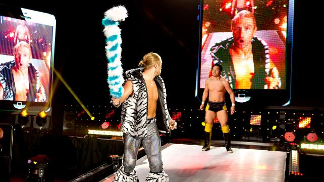 WWE NXT Hideo Itami Tyler Breeze