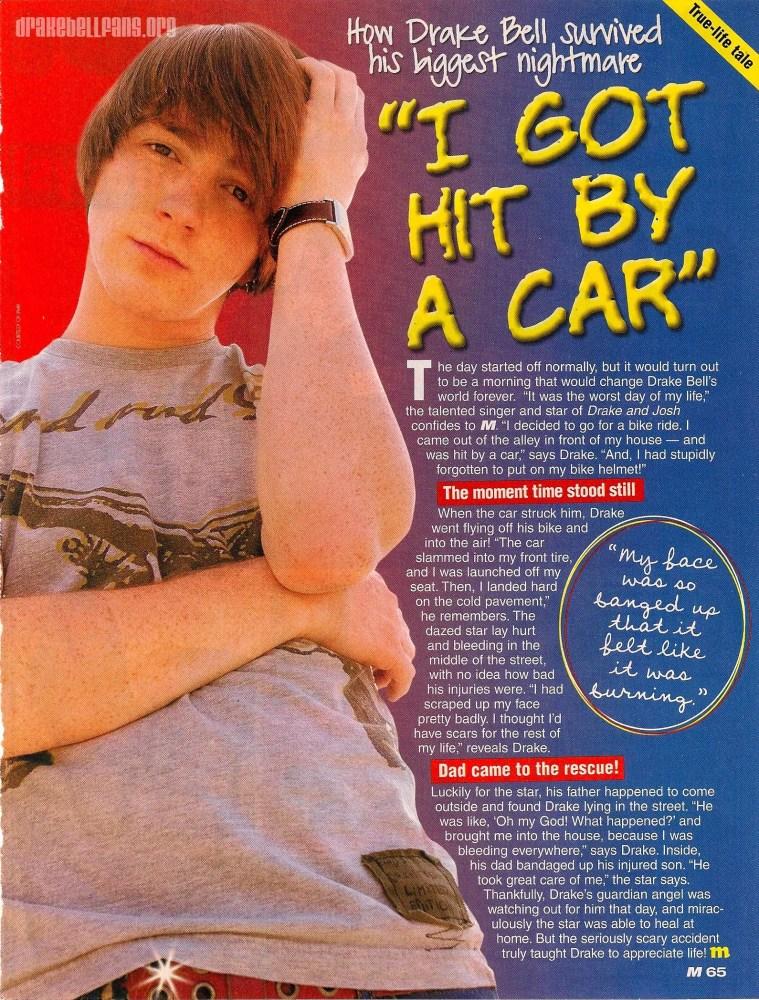 Drake Bell Car Accident: