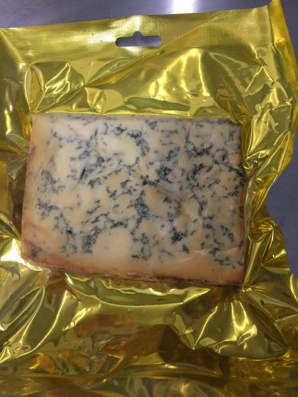 Oak and Beech Cold Smoked Stilton Cheese