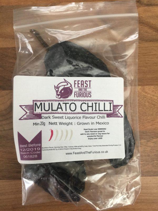 Mulato Chilli Whole