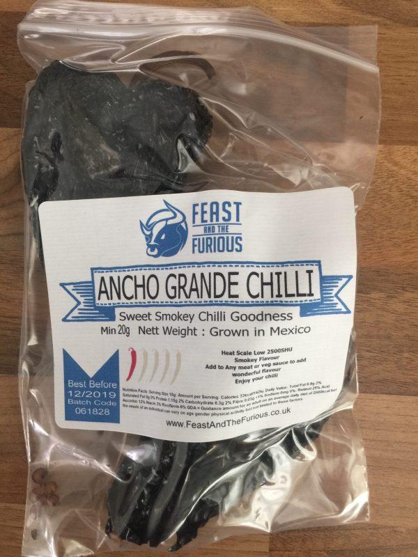 Ancho Grande Chilli Whole