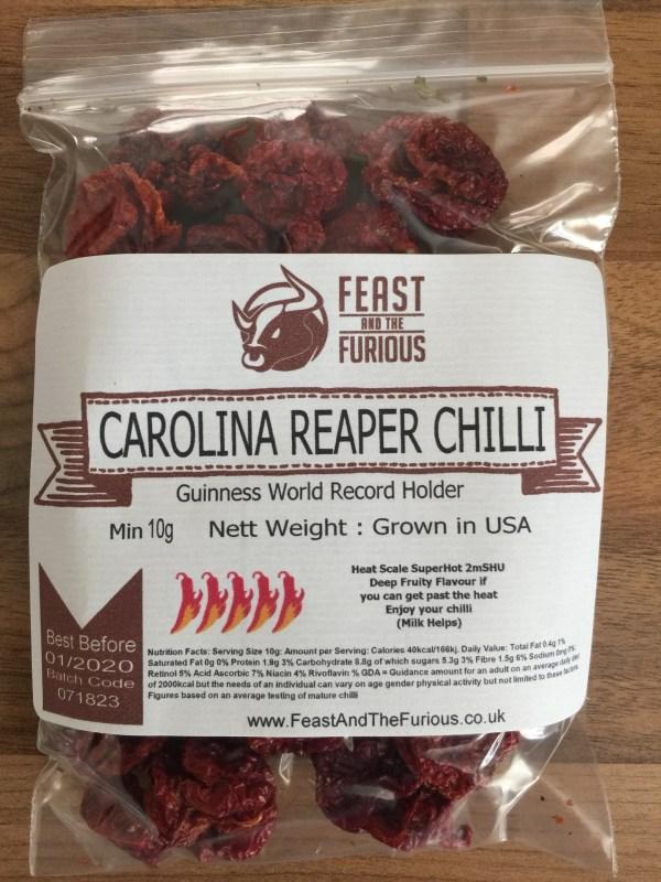 Carolina Reaper Chillies